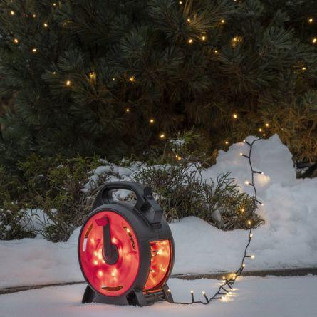 LED Lichterkette «Kabelrolle»