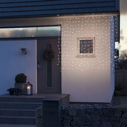 Guirlandes lumineuses à LED «Gelé» 320 LED blanc chaud