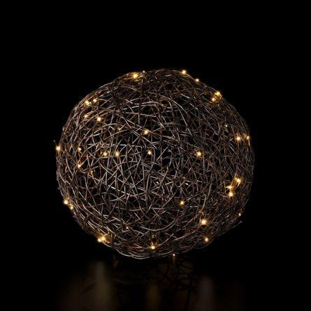LED Bälle «Rattan» Ø 35 cm