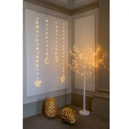 Rideau lumineux LED Stars «Angel-Hair»