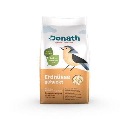 Erdnüsse gehackt «Wertvolles Ganzjahres-Vogelfutter»