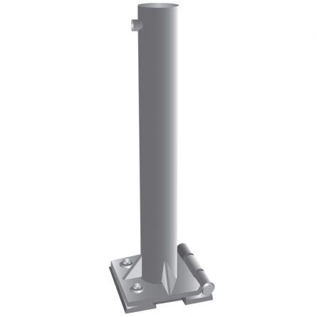 Kippvorrichtung für Flachdach exkl. Bodenplatte