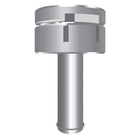Tête rotative pour mâts à potence  aluminium