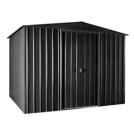 Metallhaus «Plus», 295x237x225 cm, mit Oberlicht anthrazit