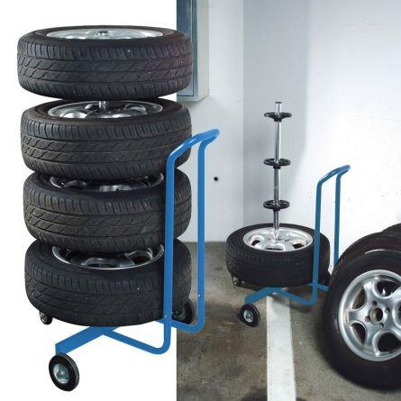"""TEDURA Support pour pneus amovible 19"""""""