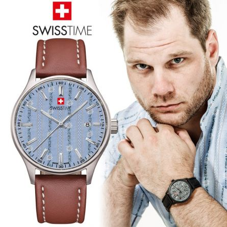 Swisstime Quarzuhr «Edelweiss» Limited