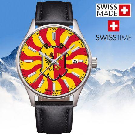 Swisstime «Kantonsuhr» Genf