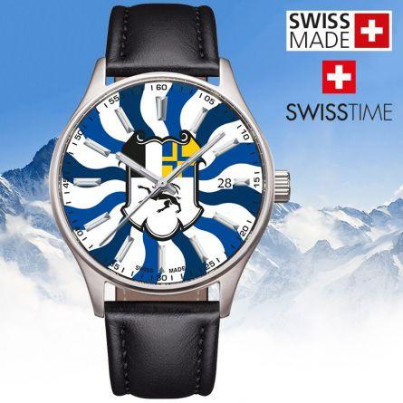 Swisstime «Kantonsuhr» Graubünden