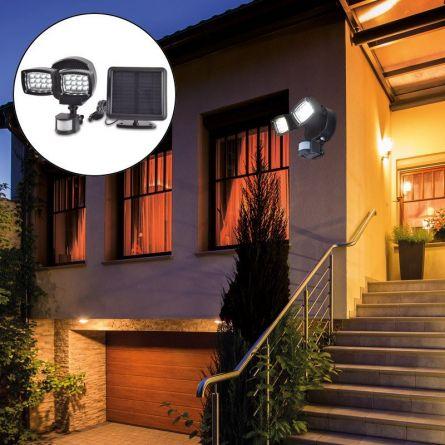 Solar LED Scheinwerfer mit Bewegungsmelder «Power»