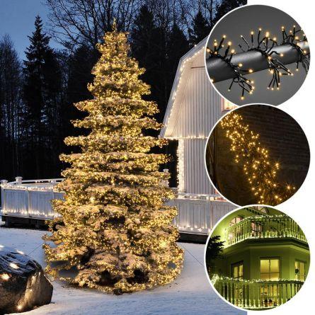 LED Micro-Büschellichterkette «Cluster», sunny-warme LED