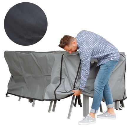 Bâche pour table rectangulaire extensible, 210-240x120x100 cm