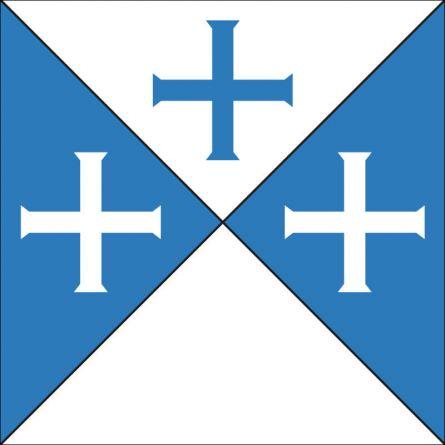 Gemeindefahne 1724 / 1731 / 1732 Bois-Damont