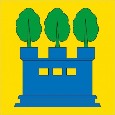 Drapeau commune 8637 Laupen ZH