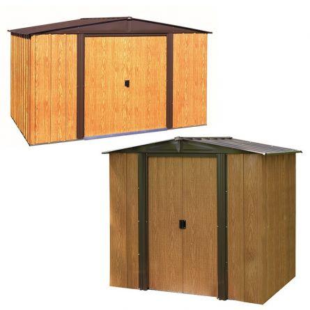 Maisons métalliques «Wood»