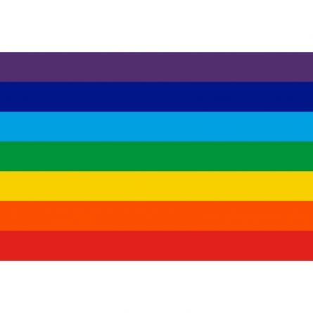 Hissfahne «Regenbogen»