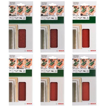 Schleifblatt für Schwingschleifer, 10er Set