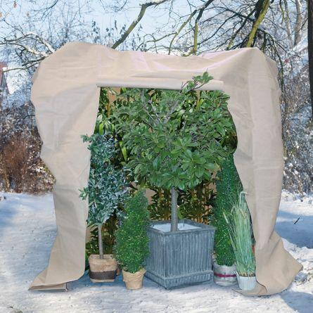Wintervlieshaube «Roll-Up»